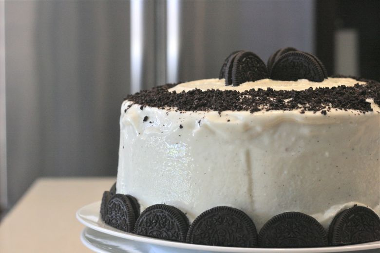 Oreo Ice Cream Cake Lovely Little Kitchen