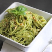 Avocado Pesto Linguine