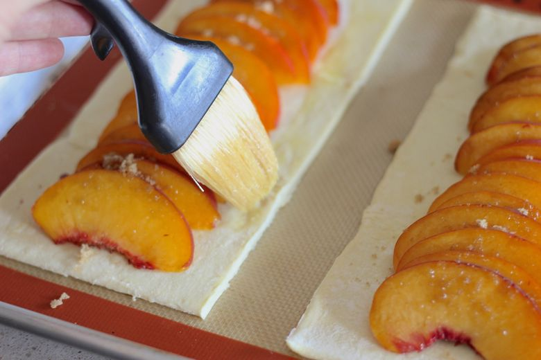 Peach Tarts Egg
