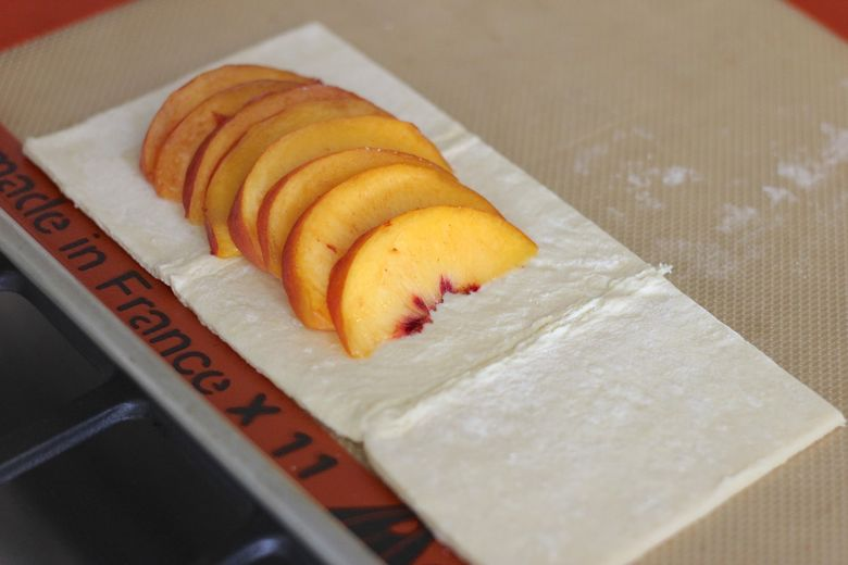 Peach Tarts Slices