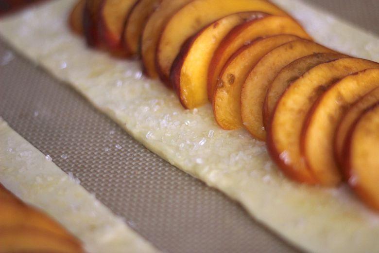 Peach Tarts Sparkling Sugar