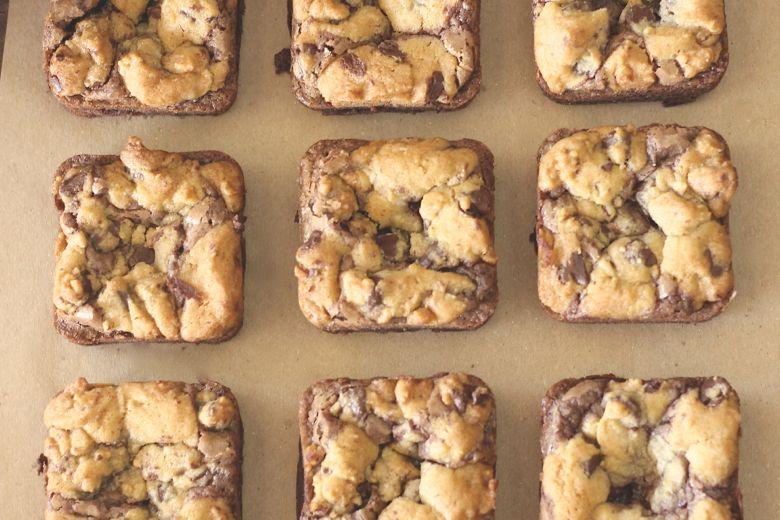 Triple Layer Brownies