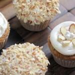 Zucchini Almond Cupcakes