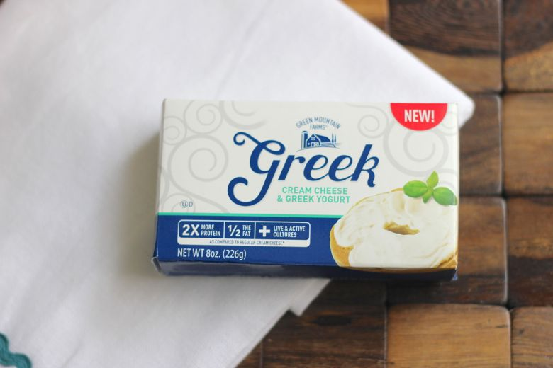 Greek Cream Cheese and Greek Yogurt