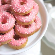 Sugar Cookie Donuts