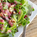 Harvest Salad With Cranberry Vinaigrette