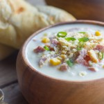 Creamy Potato Soup With Ham