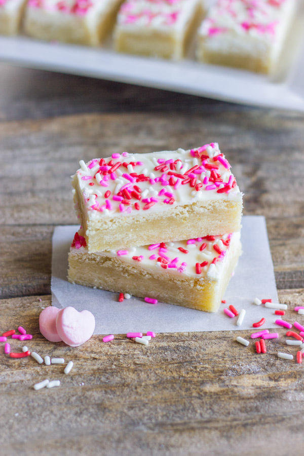 Easy White Chocolate Sugar Cookie Bars Lovely Little Kitchen