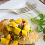Coconut Crusted Chicken With Mango Salsa