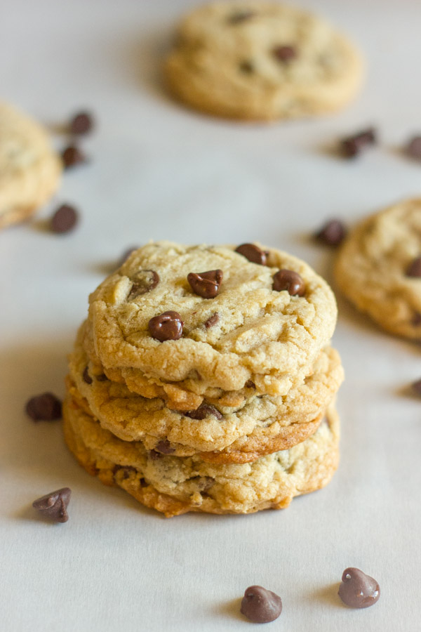 Super Soft Bakery Style Chocolate Chip Cookies - Lovely Little Kitchen