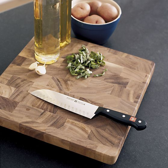 My favorite Wusthof knife and cutting board