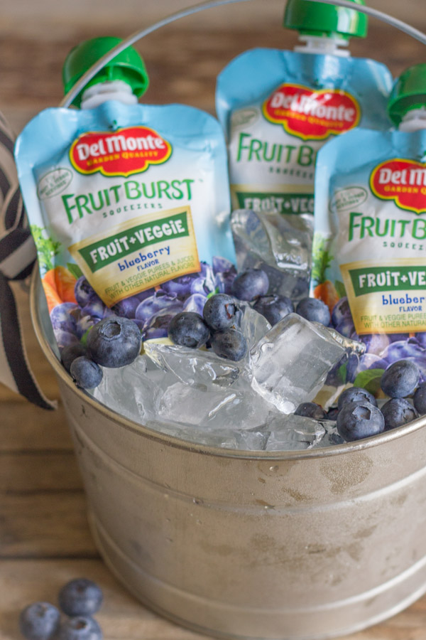 Del Monte Fruit Burst Squeezers - Blueberry