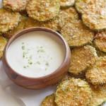 Pita Chip Fried Zucchini