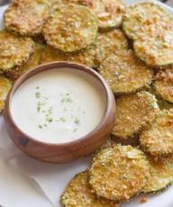 Pita Chip Fried Zucchini-5