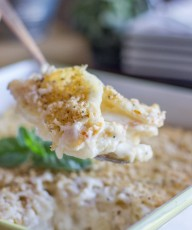 Roasted Garlic Scalloped Potatoes-4