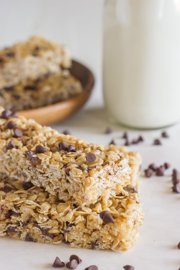 Copycat Quaker Chewy Chocolate Chip Granola Bars - Lovely ...