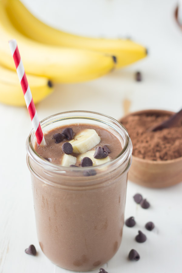 How To Make A Good Chocolate Banana Milkshake