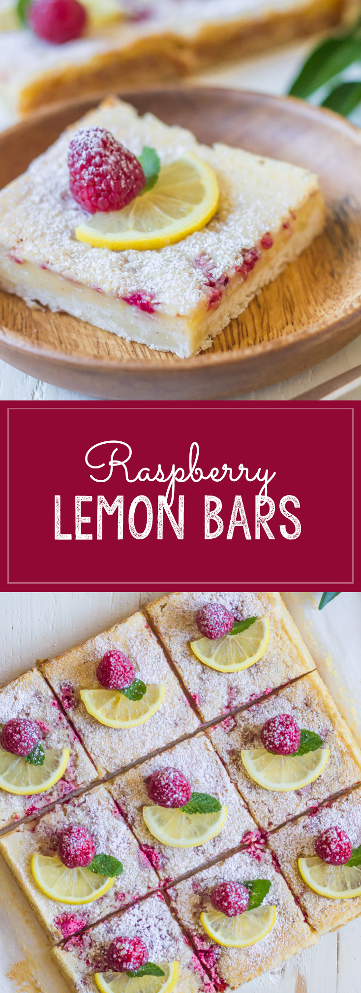 Raspberry Lemon Bars Lovely Little Kitchen
