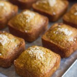 Whole Wheat Toasted Coconut Banana Bread Muffins