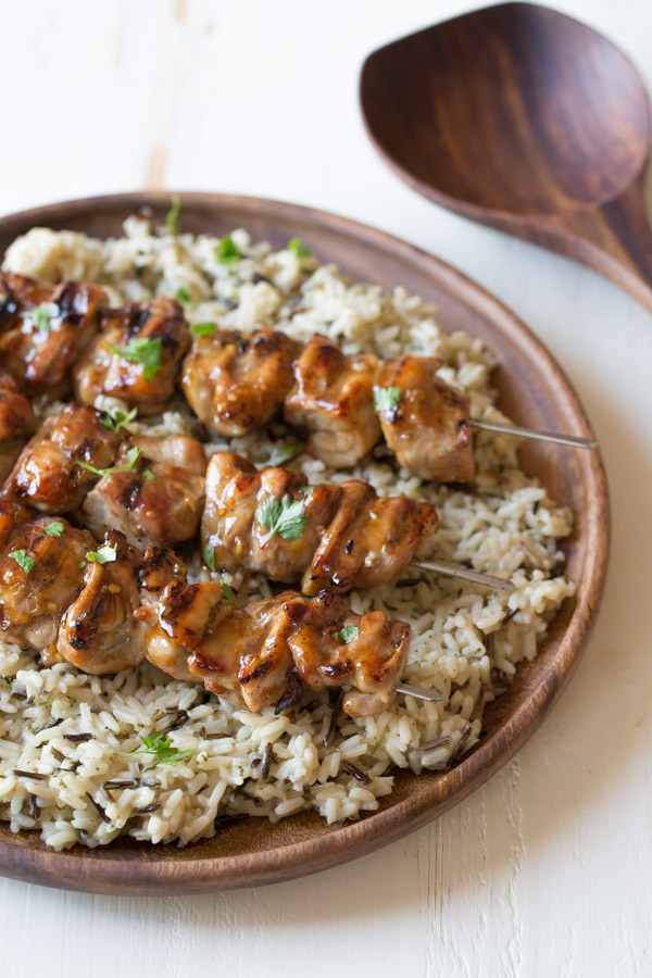 Maple Dijon Glazed Chicken - Lovely Little Kitchen