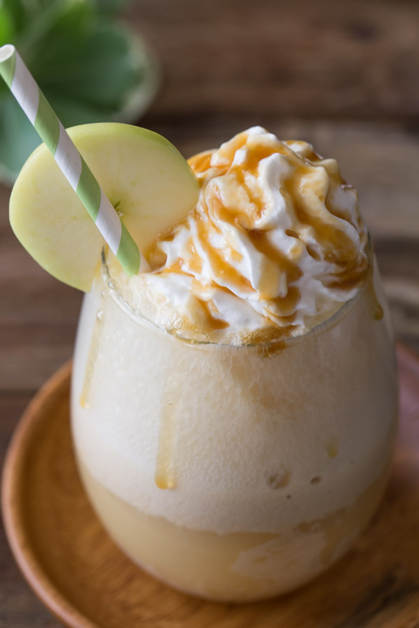 Caramel Apple Float - Two easy ingredients and you've got one tasty summertime treat!