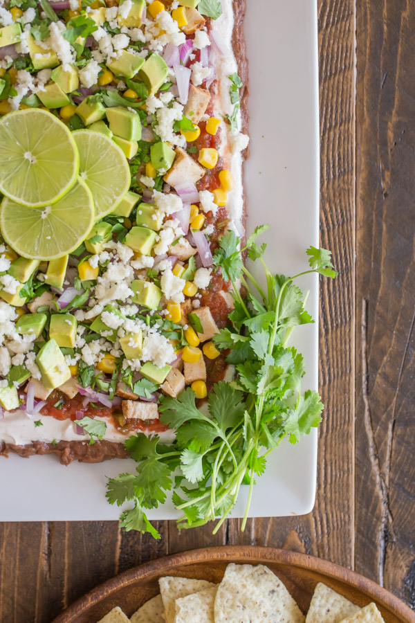 Nine-Layer Dip - Perfect for football season, and all kinds of get togethers, this dip is a real crowd pleaser with something for everyone!