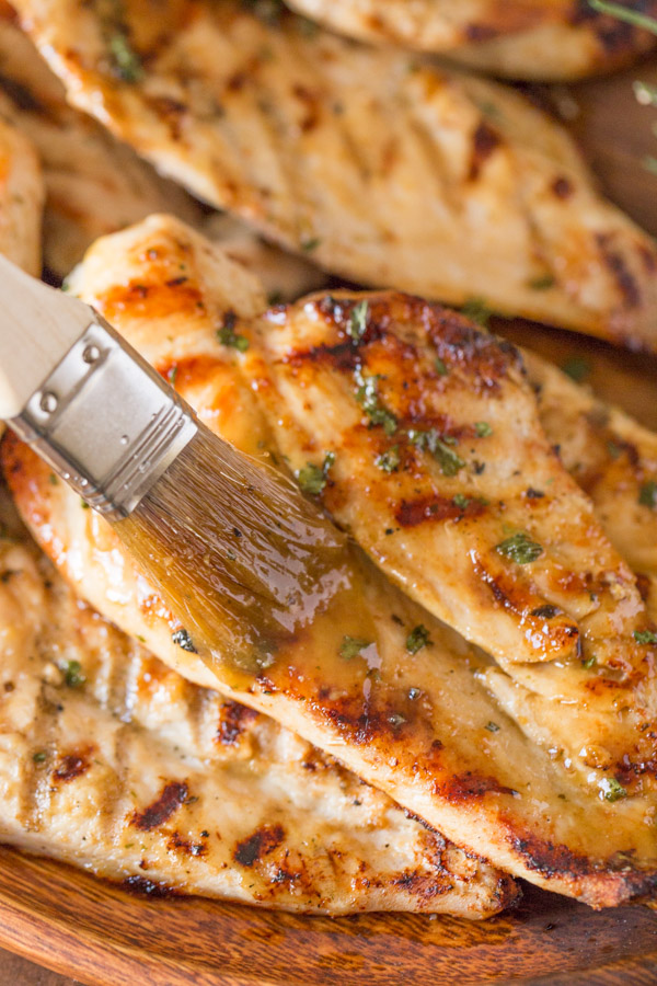 Honey Mustard Grilled Chicken Recipe — Dishmaps