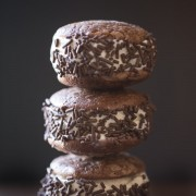 Brownie Cookie Ice Cream Sandwich-3