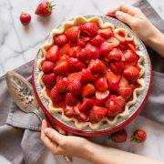 Quick and Easy Fresh Strawberry Pie-4