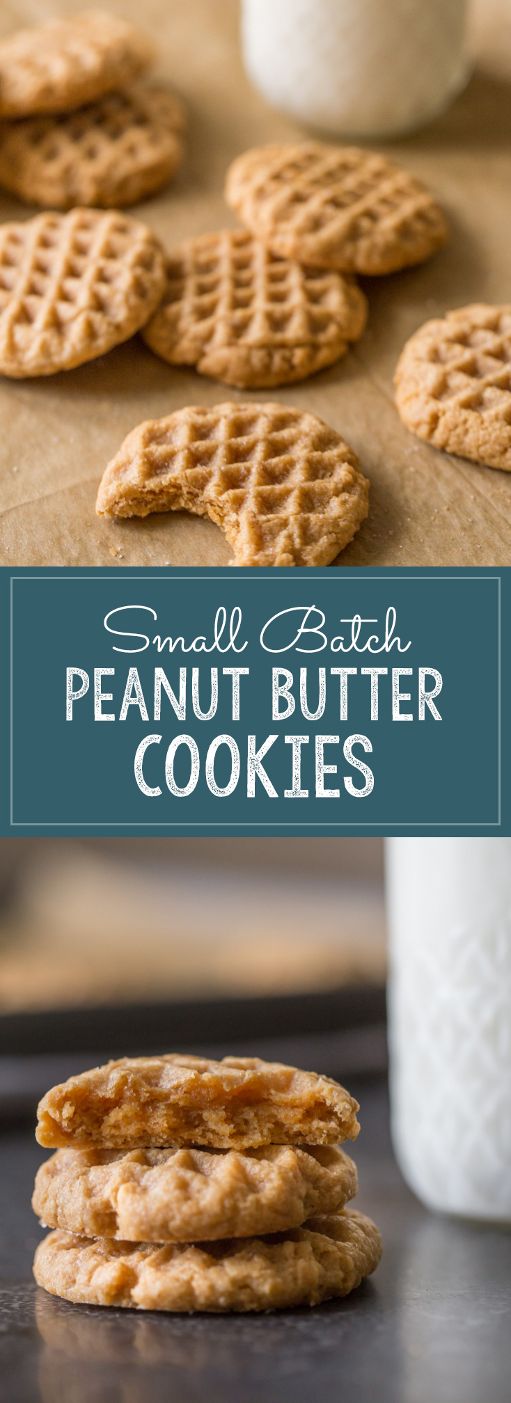 Soft, chewy and delicious, and made with only FOUR ingredients!