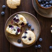Vanilla Blueberry Buttermilk Muffins-3