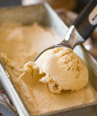 One of the very best homemade ice creams I've ever made. This is a MUST MAKE for fall!
