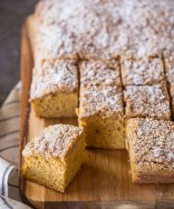 So moist and delicious, this Pumpkin Spice Coffee Cake is perfect for the holidays!
