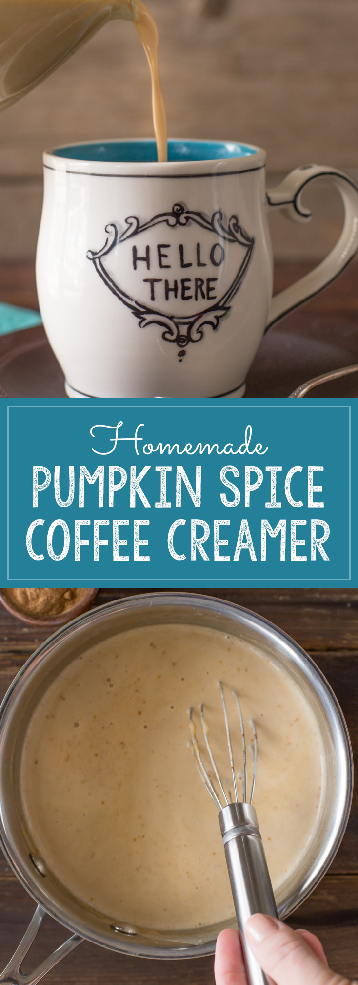 So easy to make with real pumpkin puree, warm and cozy spices and maple syrup to add just the right touch of sweetness!