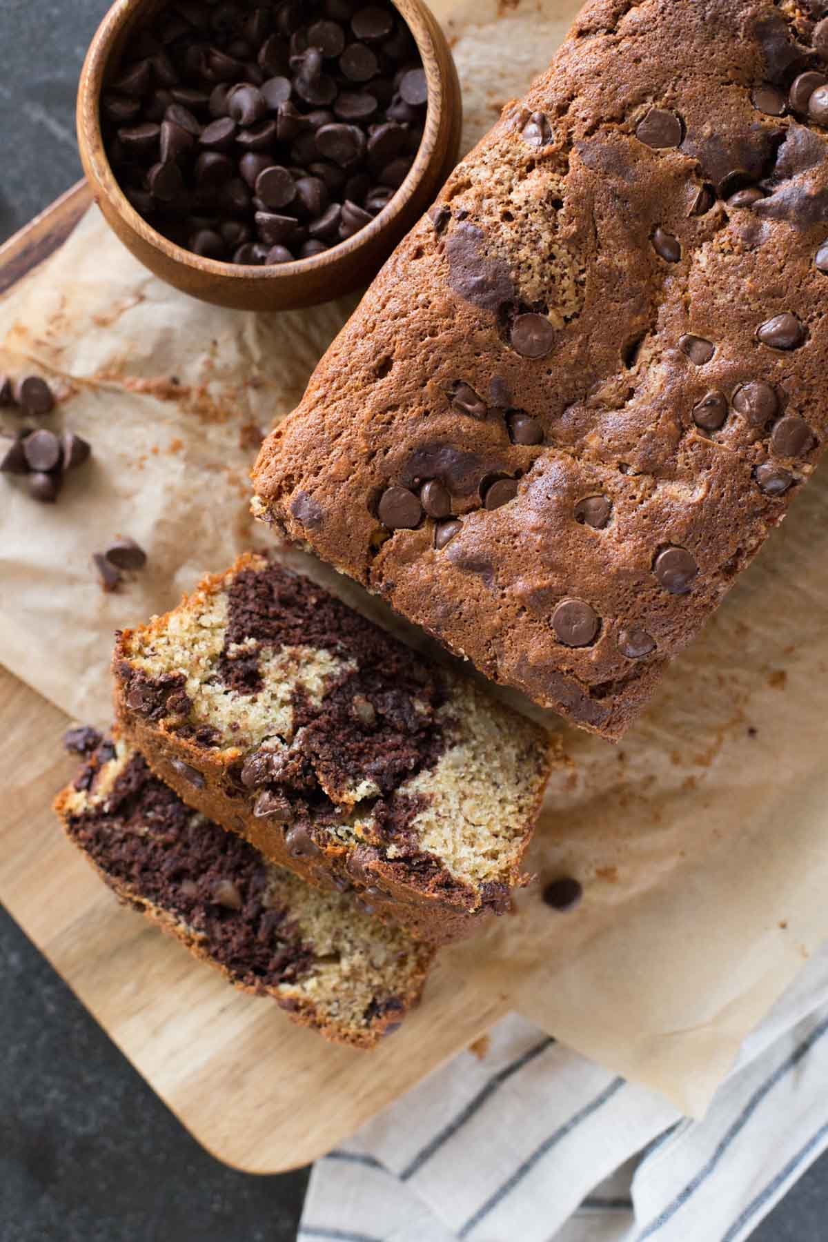 Chocolate and banana are so delicious together, and the texture of ...
