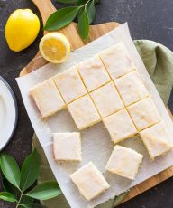 These easy Vanilla Bean Lemon Bars are a refreshing little snack, and I love that they come together so quickly with one bowl and a mixer.
